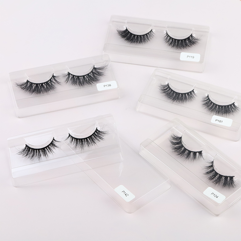 High Quality 3D Mink Lashes Strip Lashes USA MS07