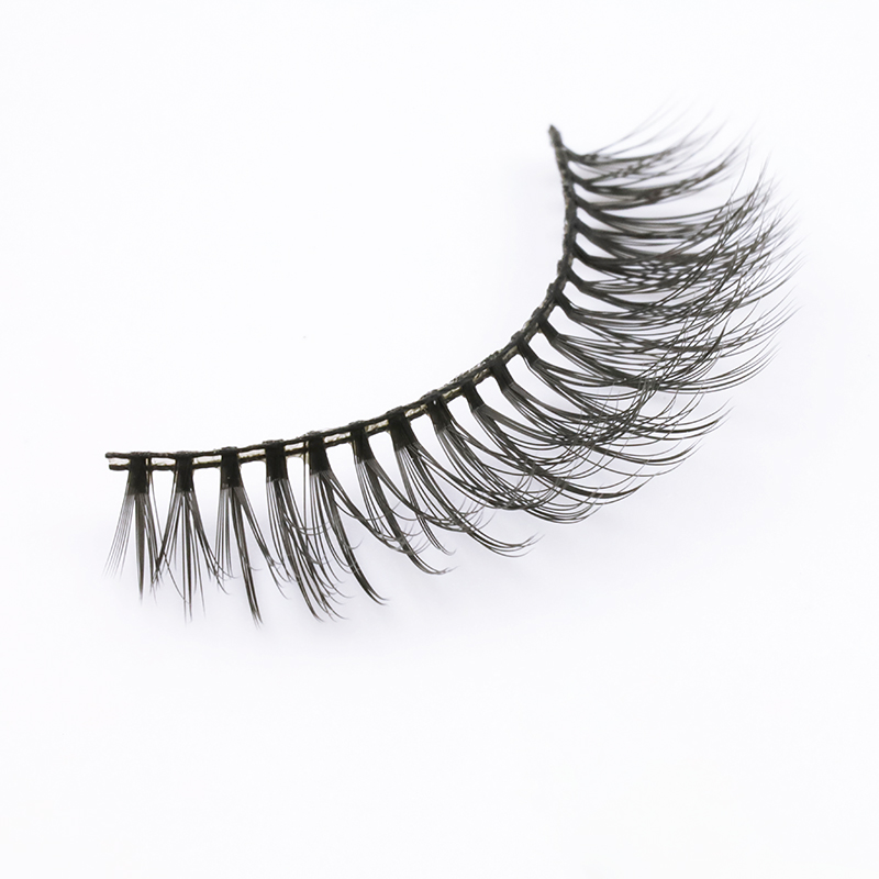 Inquiry for private label  3d silk eyelashes /3d faux mink lashes in bulk factory JN