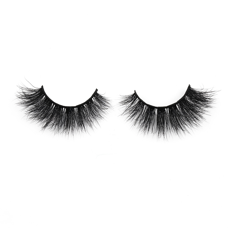 Wholesale Reusable Natural 6D Real Mink Lashes in 2021 6D13 ZX008