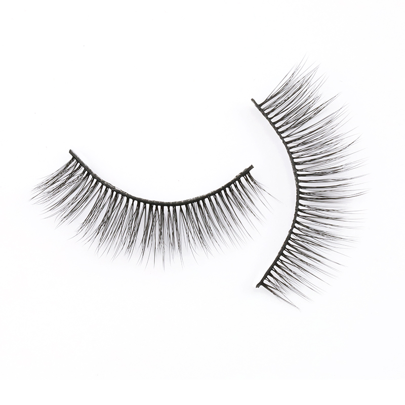Private Label Vegan Soft Band 3D Silk Eyelashes Vendor SP80 ZX032