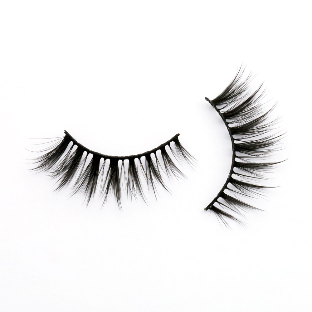 Wholesale Vendor 100% Natural 3D Silk Eyelashes Private Label ZX
