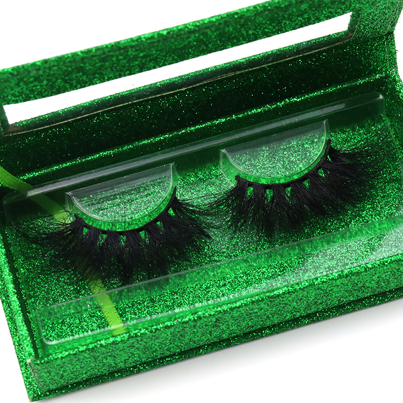 Best selling wholesale real mink 25mm lashes with package box 100% 5D mink lashes  YY