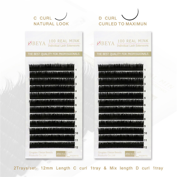 Private Label Lash Suppliers Wholesale Real Mink Eyelash Extensions Y18
