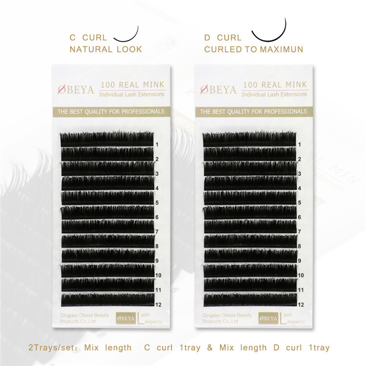 Best Eyelash Extensions With Mink Individual Eyelash Extensions Y29