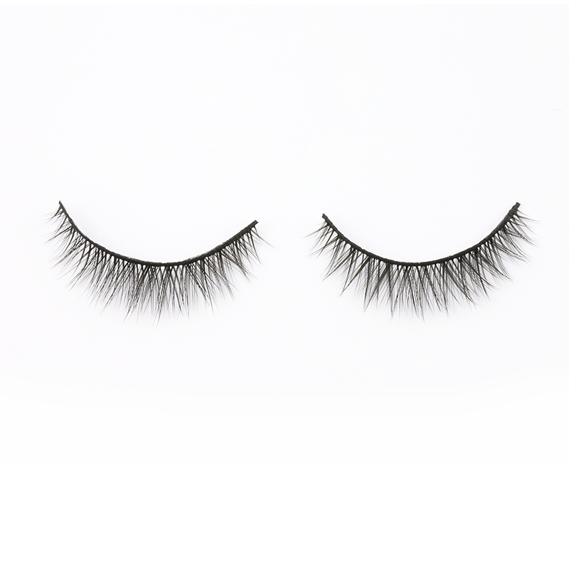 China Manufacturer Supply Luxury 3D Synthetic Silk Eyelashes SP27 ZX031