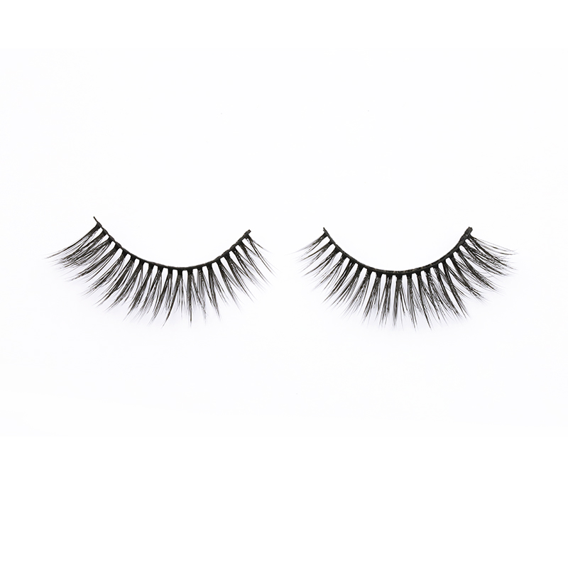 2021 Hot Sale Light And Flexible 3D  Silk Lashes Supplier SPG59 ZX018