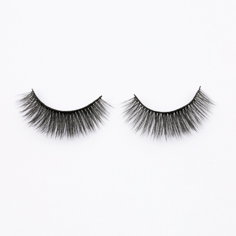 2021 New Own Brand Wholesale 3D Silk Lashes Supplier SPG45 ZX017
