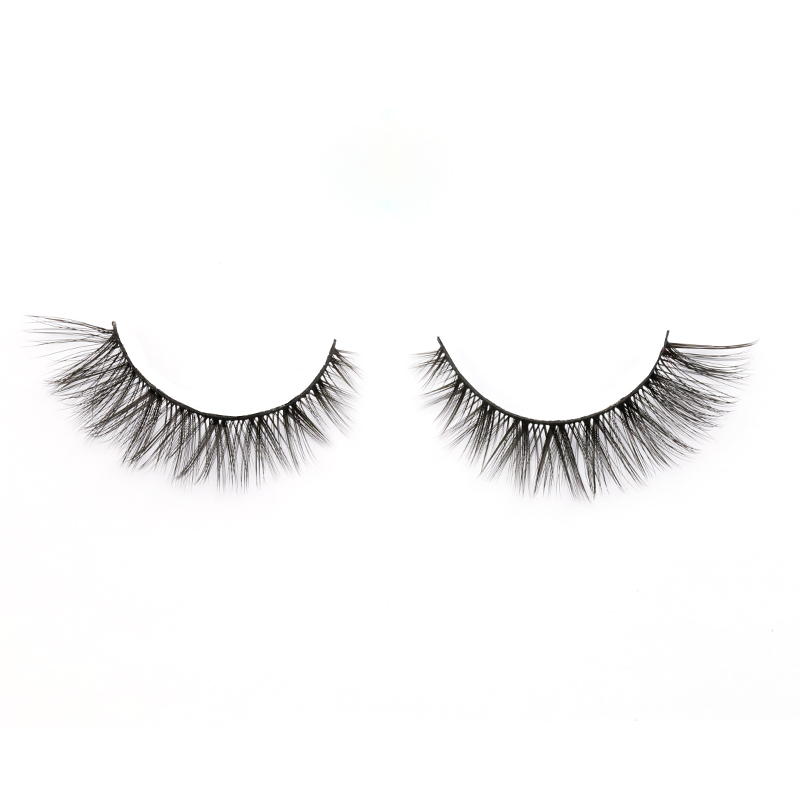 Low Price Popular Natural Looking 3D Silk Eyelashes Vendor A9 ZX022