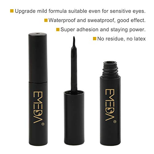2021 Best Seller Professional Latex Free Super Strong Hold Eyelash Black Glue in UK/USA ZX001