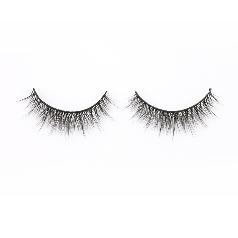 Wholesale Natural 3D Effect Silk Eyelashes Vendor in US/UK SP65 ZX030