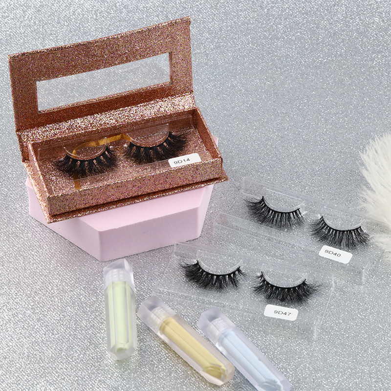 High Quality 9D New Arrival Mink Lashes Eyelash Vendors Wholesale California MS16