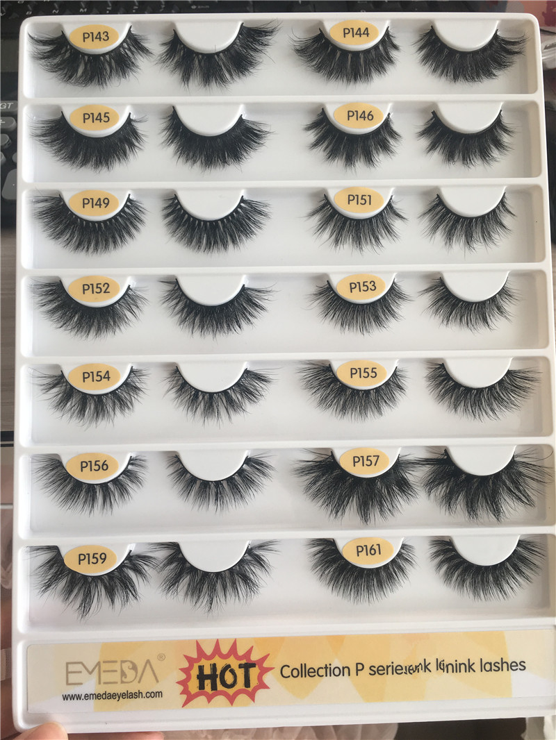 High Quality 5D Best Seller Mink Lashes Eyelash Vendors Wholesale California MS18