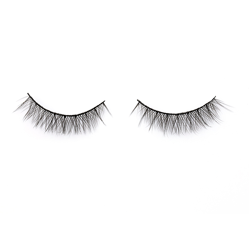 2021 New Styles Natural Short 3D Silk False Eyelashes Manufacturer A1 ZX015